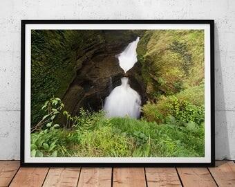 Devi's Waterfall Photo // Nepal, Asia Fine Art Print, Landscape Prints, Southeast Asia Wall Art, Photography of Asia, Nature Photograph