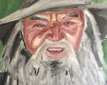 Gandalf the grey lord of the rings hobbit