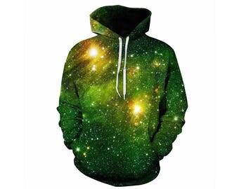Galaxy Hoodie, Galaxy Sweatshirt, Galaxy, Galaxy Jumper, Galaxy Hoodies, Space, Space Hoodie, 3d Hoodie, 3d Hoodies, Hoodie - Style 4