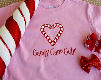 Candy Cane Cutie Toddle T-Shirt
