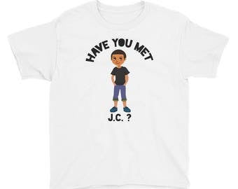 Youth Short Sleeve T-Shirt- Have You Met J.C.?