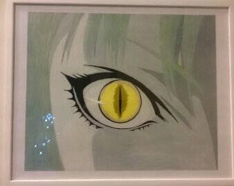 Anime Eye Up-Close
