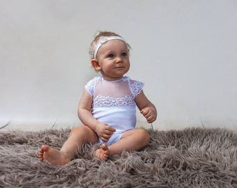Sitter Romper Photography,Sitter Photo Prop,9 Month Photo Outfit Girl,Romper,Sitter Size Overall,Photo Props,12 Month Photo Outfit,White