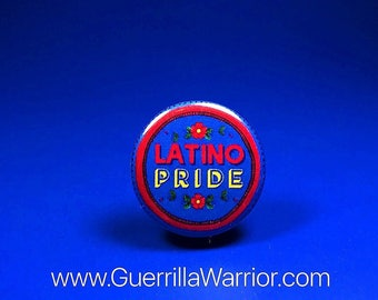 Latino Pride (1.25 inch pin-back button)