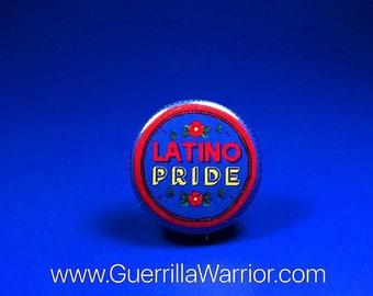 Latino Pride (1.25 inch pin-back button)