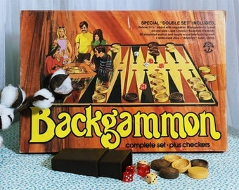 1970's Pleasantime Backgammon