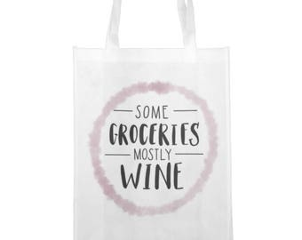Wine Not? Grocery Tote