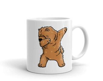 Cute Dabbing Chow Chow Mug Funny Dab Dance Dog Gift