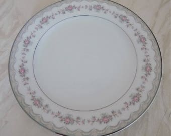Noritake Glenwood Large Side Plate Mint 1st Quality Eight Available