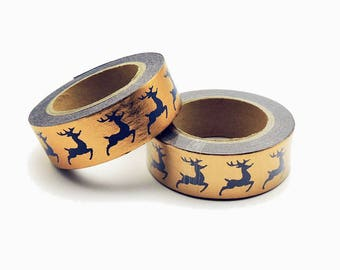 Christmas Washi Tape Reindeer Masking adhesive tape