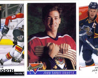 FLORIDA PANTHERS Hockey Team Lot - 125 Assorted Cards