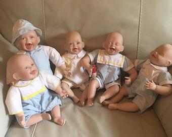 Kathy Hippensteel Dolls Set of 5