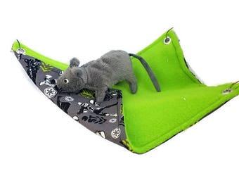 Rat Hammock - Rat Cage Accessories - Star Wars - Storm Trooper Simple Rectangular Hammock - Sugar Glider Hammock