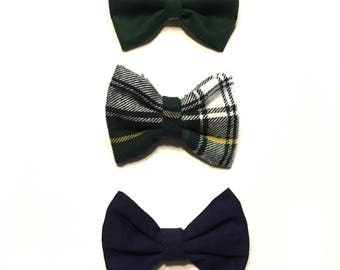 Woodland Baby Boy Interchangeable Bow Ties