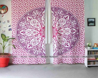 Mandala Curtains Boho - Wild Love Large