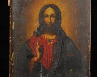 19th Century Antique Russian icon