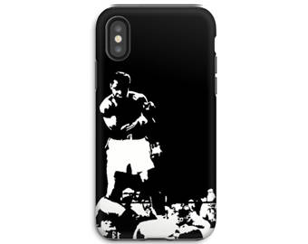 iPhone X Phone Case - iPhone 8 Case - iPhone Case - Samsung Galaxy - Galaxy S8 case - Muhammed Ali