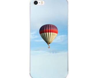 Hot Air Balloon Clear Case for iPhone X, iPhone 8/8 Plus, iPhone 7/7 Plus, iPhone 6/6s, iPhone 6 Plus/6s Plus, iPhone 5/5s/SE