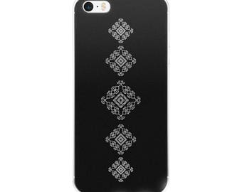 Traditional Black and White Minimalist Design Clear Case for iPhone X, 8/8 Plus, 7/7 Plus, 6/6s, 6 Plus/6s Plus, 5/5s/SE perfect gift