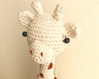 Crochet giraffe- Amigurumi giraffe- Stuffed giraffe- Crochet toy- Giraffe toy- Baby giraffe toy- Crochet animal- Baby giraffe