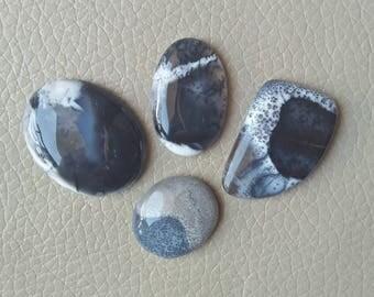 Beautiful Natural Dendrite Gemstone 100% Loose Mix Shape Lot Stone, Wholesale Price Gemstone Supplies, Dendrite Opal Stones Weight 95 Carat