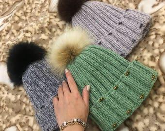 Handmade Knitted Hats
