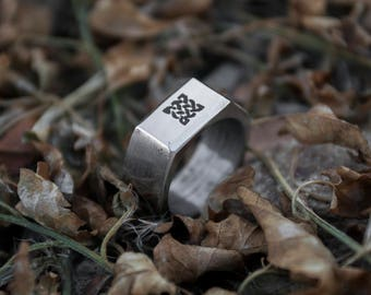 The Stoic by STOIC Forge Steel Nut Hex Ring, Wedding Ring, Mens Ring, Nut Ring, Hexagonal Ring, Handmade Ring, Hardware Ring, Anniversary