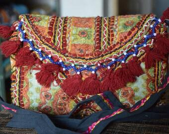 Banjara Vintage Indian Clutch Bag Patchwork Tribal Bohemian Purse Stylish Gypsy BB17