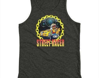Boy's street racing muscle car shirt Youth Tank Top