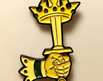 Ace of Swords Pin B-Grade