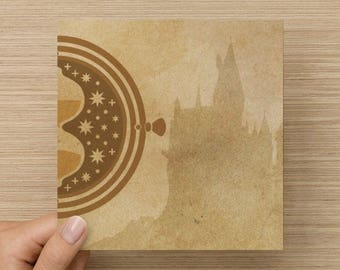 Time Turner greetings card