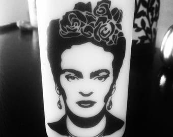 Custom Frida picture candle