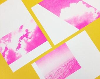 Mini Poster Clouds