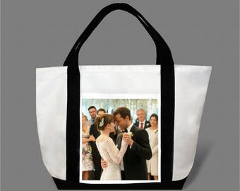 Dakota Johnson Jamie Dornan Canvas Tote Bag #0015