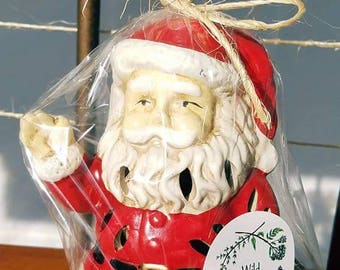 Santa Potpourri Holder