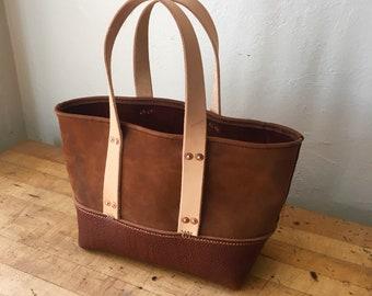 Top Handle Bag Leather Bag