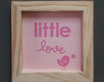 """Framework """"Little love"""""""