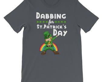 Funny Dabbing St Patrick's Day Leprechaun Shirt