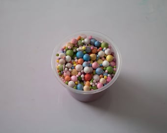 Rainbow Cereal Slime 5oz