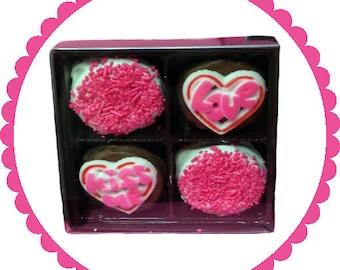 Four Way Oreo Gift Boxes - Valentine's Day