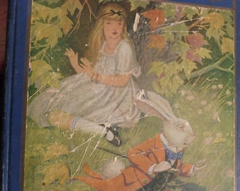 1916 edition Alice in Wonderland by Lewis Carroll- Illus by milo winter