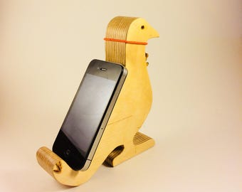 Wood Cell phone holder