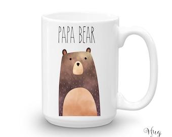 Papa Bear Mug, New Dad Gift, Bear Mugs, Pregnancy Mug, Papa Bear Gift, Maternity Gift, New Dad Mug, Bear Mug, Dad To Be Mug, Mug For Dad,