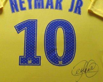 New Neymar Signed PSG Jersey Autograph,
