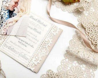 Vintage Wedding - Save the Date