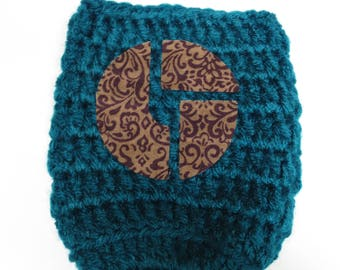The Disco Biscuits Handmade Crochet Can Cooler