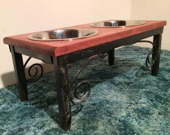 Dog Bowl Stand ~ Medium/Large