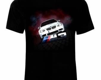 Inspired By BMW M3 Emblem Logo Auto Moto T-Shirt
