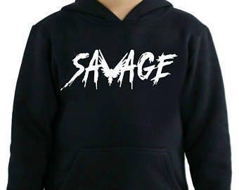 Logan Paul Savage Youth hoodie. 100% COTTON. Logan Paul Merch