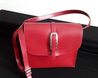 CB Pelletterie Red Bag
